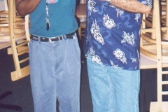 Charlie Sayles & Min go Balaguer, Baltimore 2002