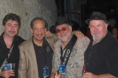 Jerry Portnoy, Duke-Robillard, Gene Taylor- & Mingo Balaguer at Cazorla Blues Festival 2006