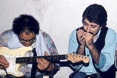 Louisiana Red & Mingo Balaguer at Cerdanyola Blues Festival 1990