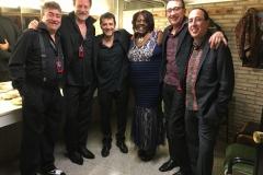 Tia Carroll, Lluis Coloma ,Francisco Simon, Manolo German,  Mark Ruiz  & Min go Balaguer San-Javier Jazz Festival 2017